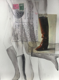 THESE BOOTS 1978:2020 - 23 x 31 cm - mix