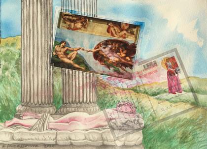 ROMAMOROSA 2016-2020- 29 x 39 cm - mixed