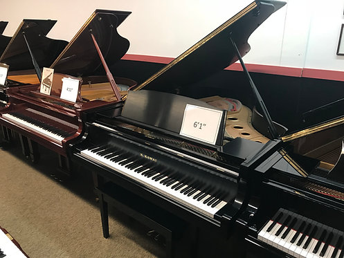 Kawai GS-30 Ebony Satin Grand Piano 6′1″
