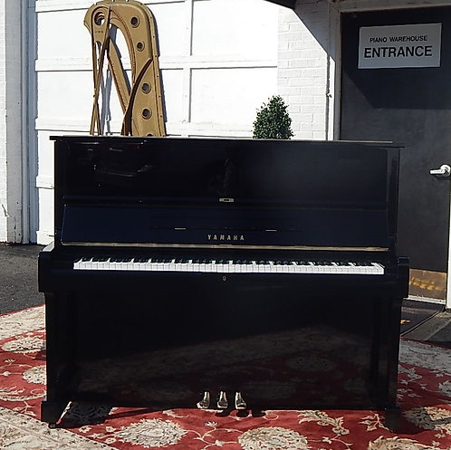 Yamaha U-1 Ebony Polish Studio 48″