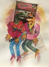 LA RISUEÑA  1988:2020 - 23 x 31 cm - mi