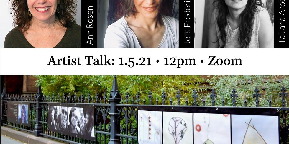 Footprints on Montague: Artist Talk