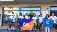 Il Mattone riparte dal Centro Internazionale per la Pace fra i Popoli di Assisi con i ciclisti del CSI di Foligno.