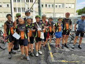 Le cicliste del CIF di Rosà sono arrivate a Mestre.
