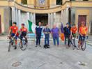 il Mattone, con la delegazione del CSI Campania, alla Fonte dell'Acqua della Madonna a Castellamare di Stabia.