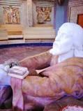 Il Mattone del mondo al Santuario di Gesù Agonizzante Getsemani di Paestum.
