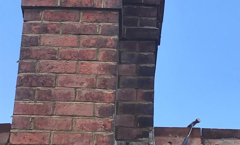 Chimney re pointing