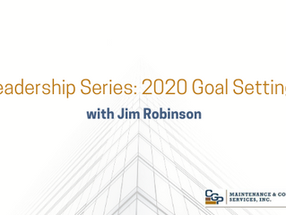 FM Leadership Series #2 - 2020 Goal Setting