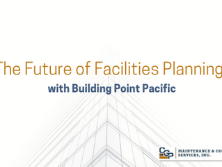 The Future of Facilities Planning w/ Building Point Pacific