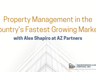 Property Management in the Country's Fastest Growing Market with Alex Shapiro at AZ Partners