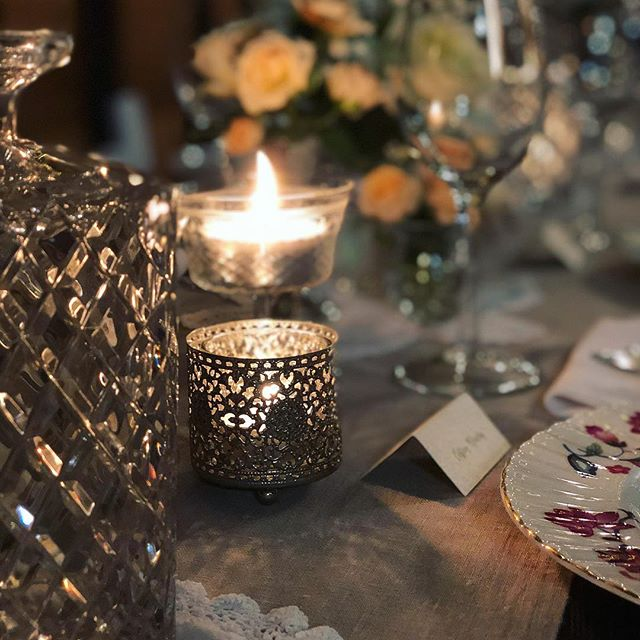 Pretty Vintage Tea Light Votives