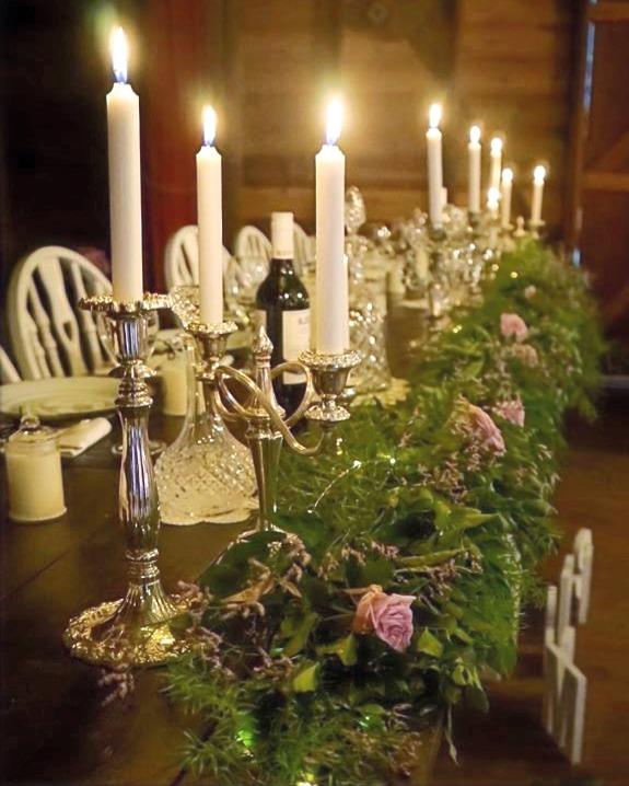 Silver Candelabra & Candlesticks