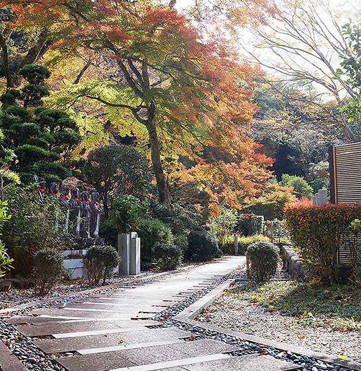 箕面 瀧安寺 霊園