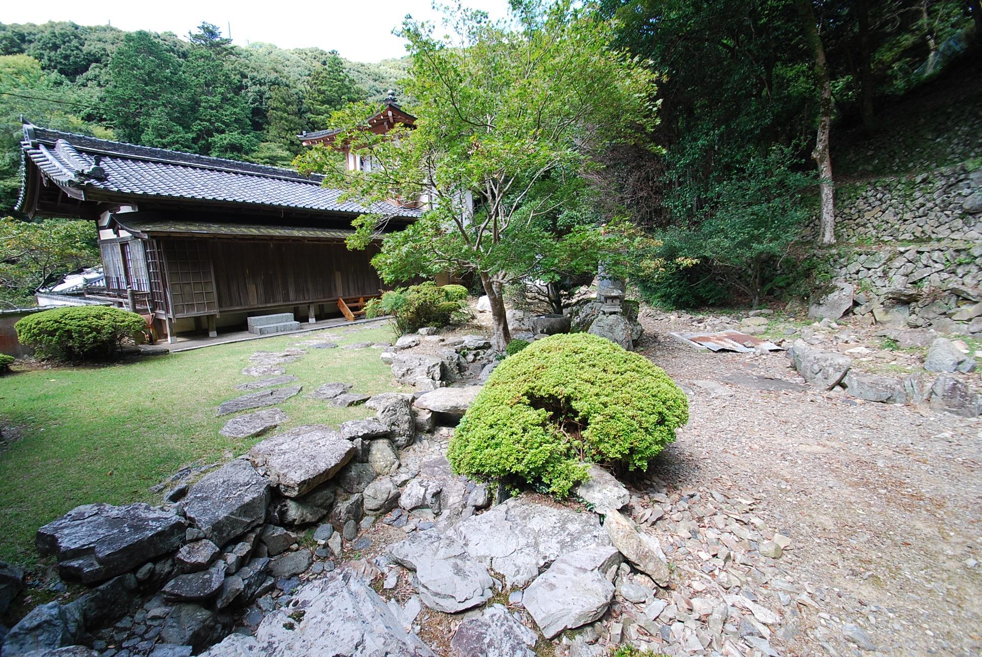 瀧安寺 庭園
