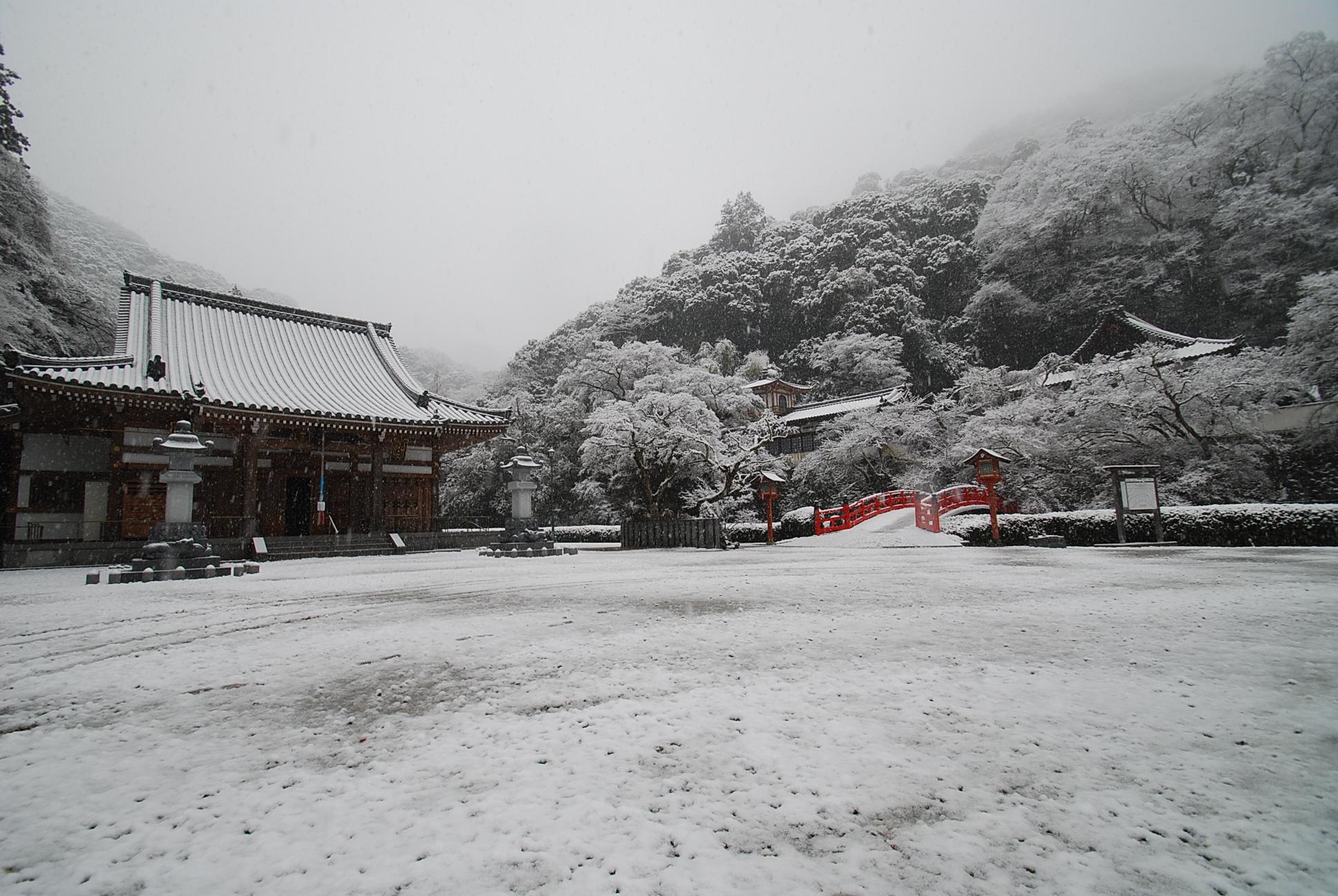箕面山 瀧安寺 境内