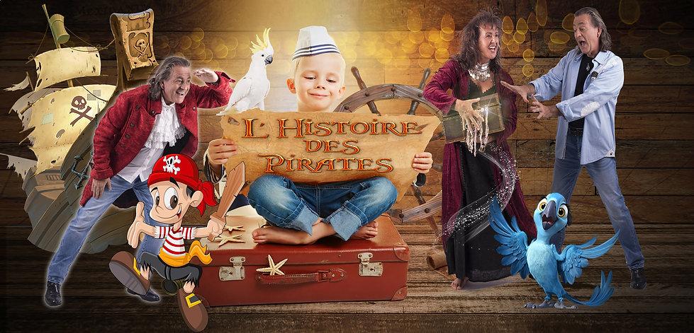 spectacle pour enfant histoire des pirat