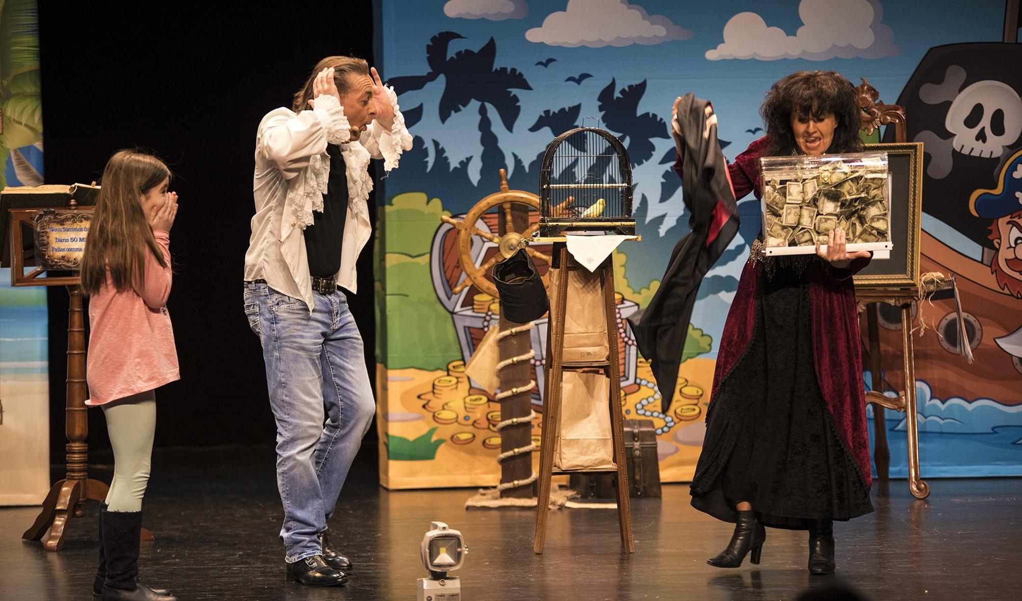 magie enfants histoire des pirates