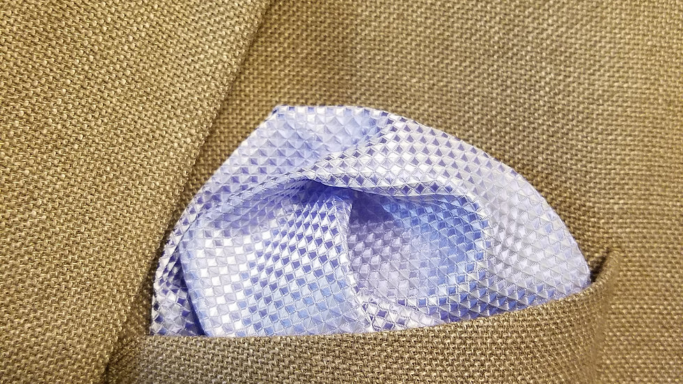 Lavendar Pocket Square