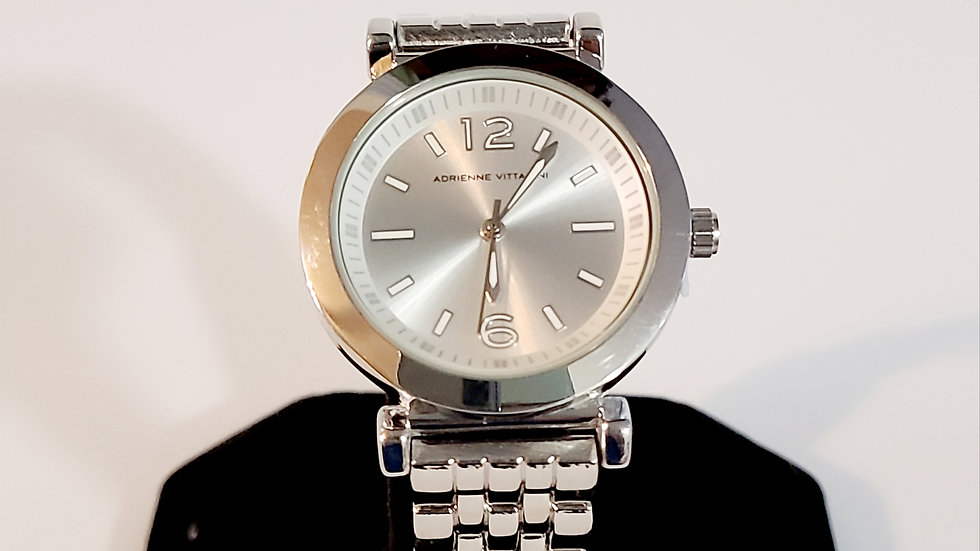 Men's Silver Dress Watch