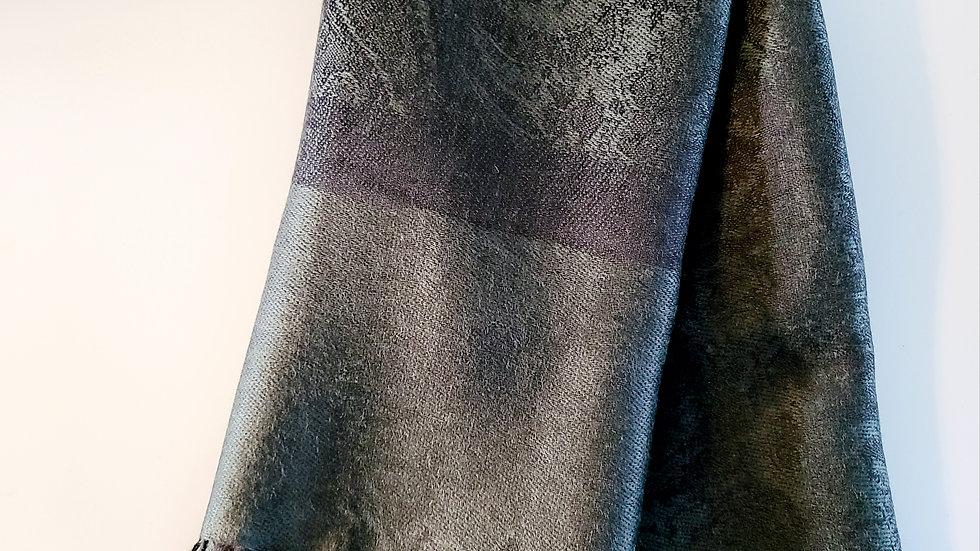 Black/Gray Pashmina Scarf
