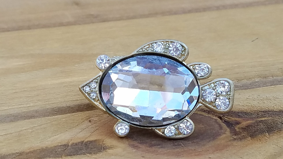 Crystal Fish Ring