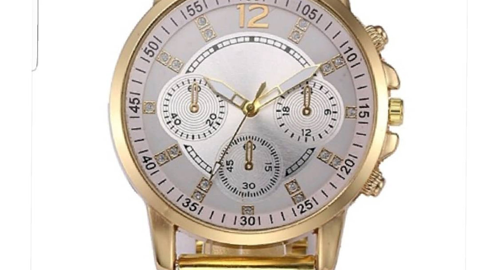 Men's Gold Dress Watch