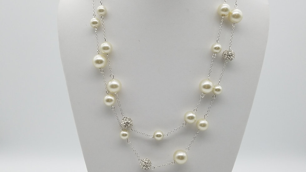 Extra Long Strand of Pearls