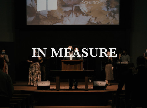 In Measure | Oct 4th