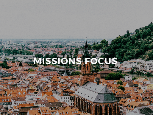 Missions Focus: The Townsley's (Germany)