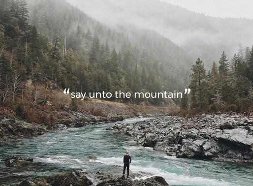 Say Unto The Mountain