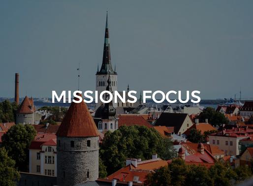 Midweek Missions Focus: The Turner's (Estonia)