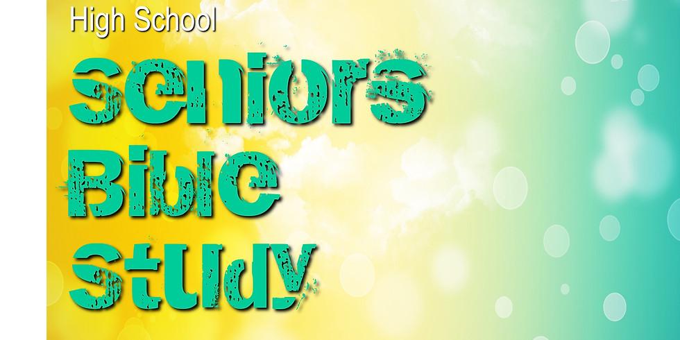 High School Seniors-Only Bible Study