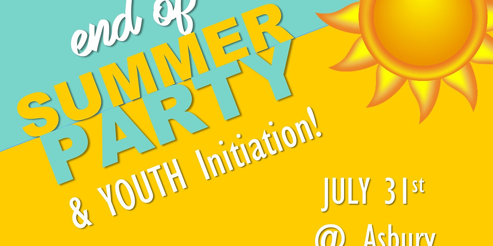YOUTH: End of Summer Party!