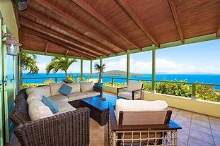 Porch Overlooking British Virgin Islands