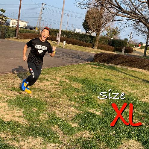 マッスルアップ熊本Tシャツ-メンズXL