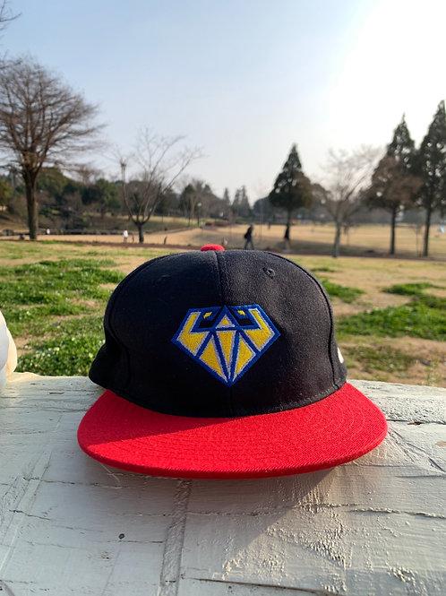 マッスルアップ熊本ロゴキャップ-RED