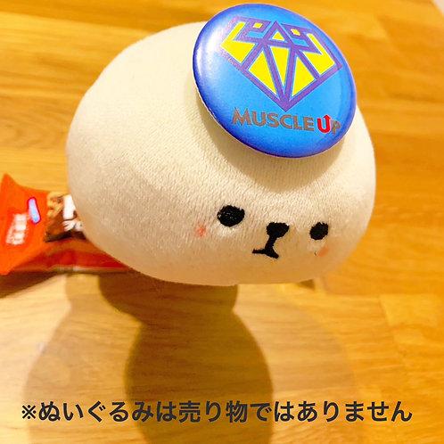 マッスルアップ熊本ロゴバッチ