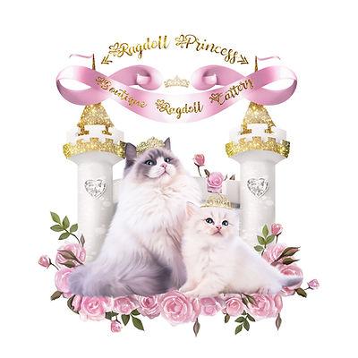 Ragdoll Princess Logo