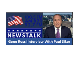 Gene Rossi's NewsTalk Interview with Paul
