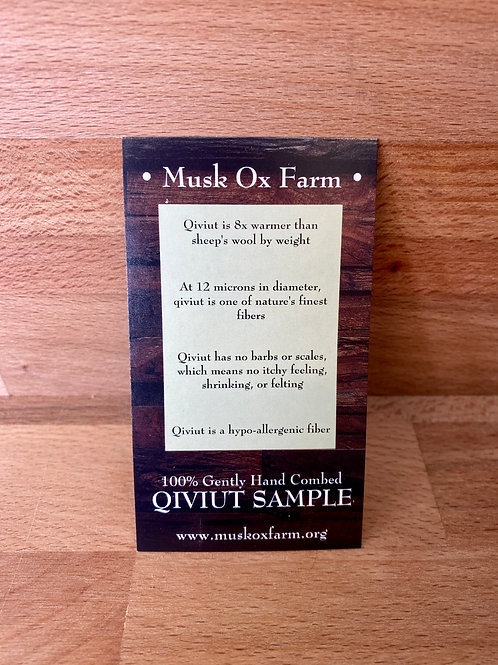 Qiviut Sample