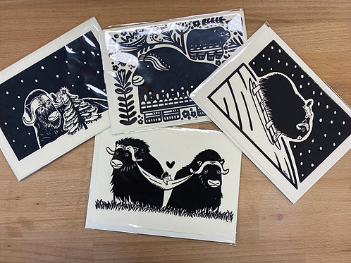 Musk Ox Cards