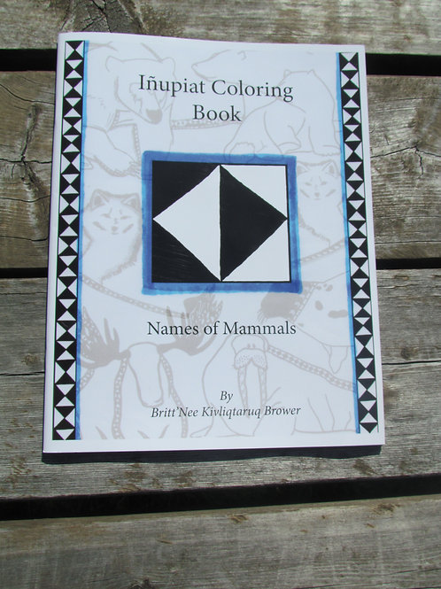 Inupiat Coloring Book