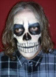 Maquiagem de caveira. Skull