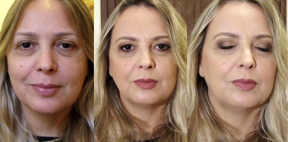 Maquiagem corretiva para pele madura