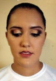 Maquiagem para foto de formanda da Brigada em Porto Alegre