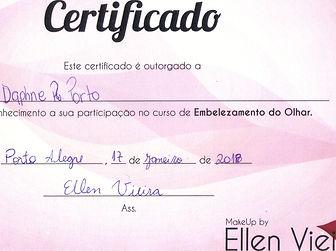 Curso de Extesão de Cílios com Ellen Vieira