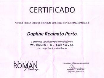 Workshop de Carnaval com o maquiador Adriano Roman