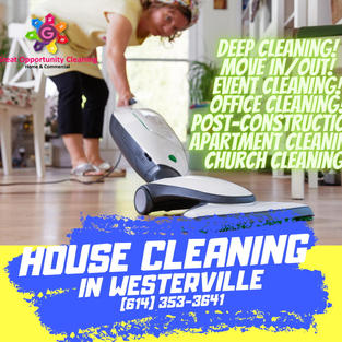 HOUSE CLEANING IN WESTERVILLE.