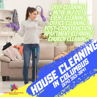 house cleaning Columbus Oh