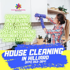 HOUSE CLEANING IN HILLIARD